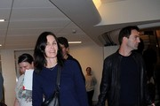 Courteney Cox and Johnny McDaid at LAX — Part 3