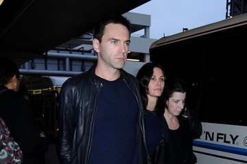 Courteney Cox Courteney Cox and Johnny McDaid at LAX — Part 3