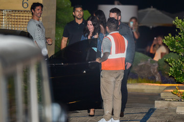 Courteney Cox Courteney Cox And Johnny McDaid Dine At Nobu