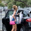 Courtney Bingham-Sixx Courtney Sixx Shops for Dresses in Los Angeles