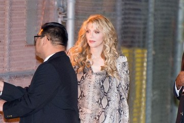 Courtney Love Courtney Love Heads to 'Jimmy Kimmel Live!'