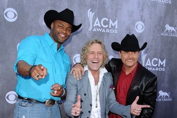 Cowboy Troy Big Kenny Arrivals at the Academy of Country Music Awards