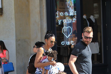 Craig Sykes Marsha Thomason Visits The Grove