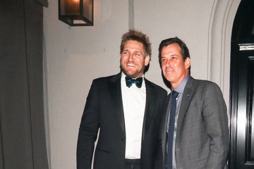 Curtis Stone Curtis Stone Outside Craig's Restaurant In West Hollywood