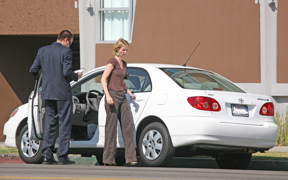 photo of Cynthia Nixon  - car