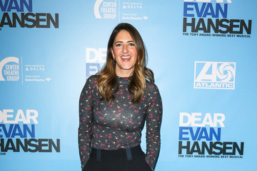 D'Arcy Carden Stars Attend The Opening Night Performance Of 'Dear Evan Hansen'