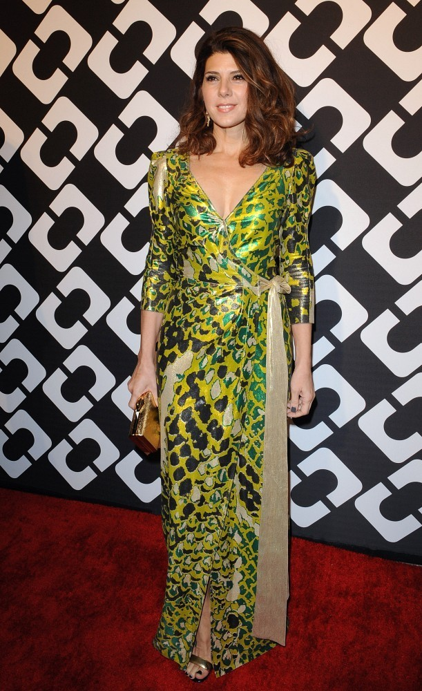 "Diane Von Furstenberg&squot;s ""Journey of a Dress"" 40th Anniversary Party..Wilshire May Company Building, Los Angeles, CA..January 10, 2014..Job: 140110A1..(Photo by Axelle Woussen/Bauer-Griffin)..Pictured: Marisa Tomei."