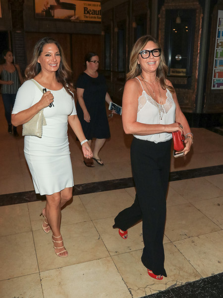 Daisy Fuentes Outside Pantages Theatre In Hollywood