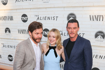 Dakota Fanning Luke Evans Emmy For Your Consideration Red Carpet Event For TNT's 'The Alienist'