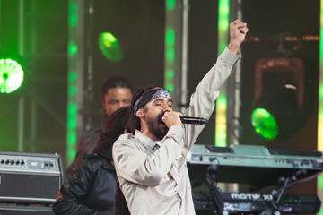 Damian Marley Damian Marley Appears on 'Kimmel'