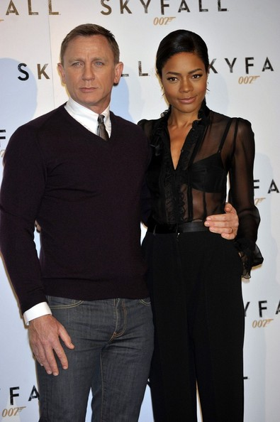 Naomie Harris couple