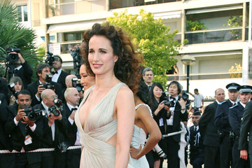 Andie MacDowell 'My Blueberry Nights' at Cannes