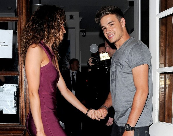 Danielle Peazer and Liam Payne