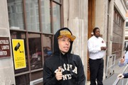 Costadinos Contostavlos AKA Dappy at BBC Radio 1.