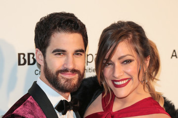Darren Criss Mia Swier 26th Annual Elton John AIDS Foundation's Academy Awards Viewing Party