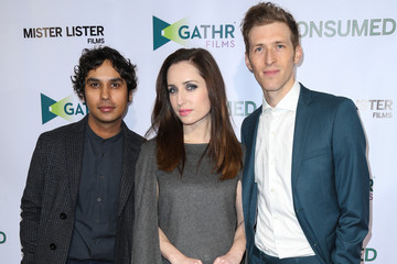 Daryl Wein Zoe Lister Jones Celebrities Attend the Premiere of 'Consumed'