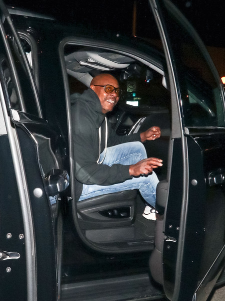 Dave Chappelle Outside Delilah Nightclub In West Hollywood
