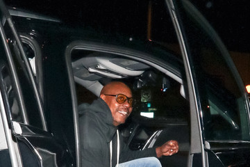 Dave Chappelle Dave Chappelle Outside Delilah Nightclub In West Hollywood