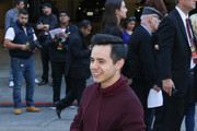 David Archuleta is seen in Los Angeles, California on Nov. 25, 2018