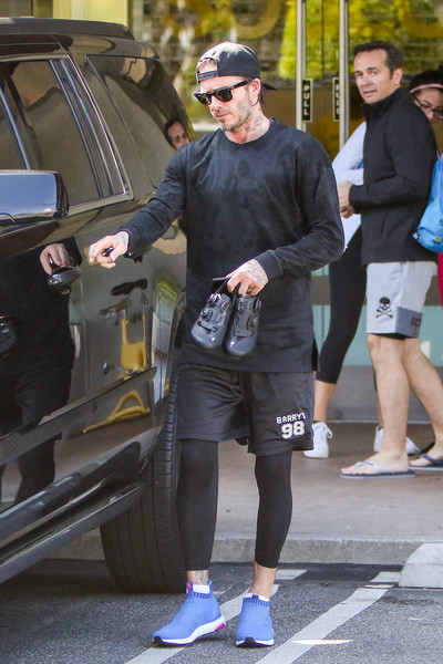 David Beckham Is Seen Out In Los Angeles