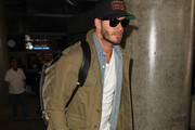 David Beckham at LAX