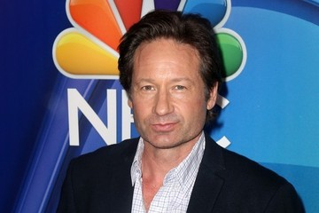 David Duchovny NBC Upfront Presentation - Red Carpet