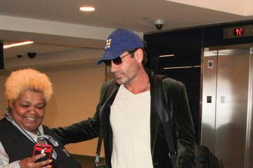 David Duchovny David Duchovny Is Seen at LAX
