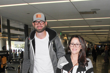 David Eason Jenelle Evans and David Eason Are Seen at LAX