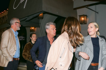 David Foster Katharine McPhee and David Foster Outside Craig's Restaurant in West Hollywood