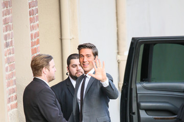 David Muir Celebrities Stop by 'Jimmy Kimmel Live'