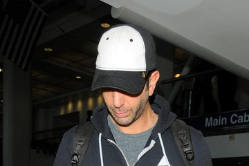 David Schwimmer David Schwimmer Arrives at LAX