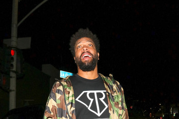 DeRay Davis DeRay Davis Outside Poppy Nightclub in West Hollywood