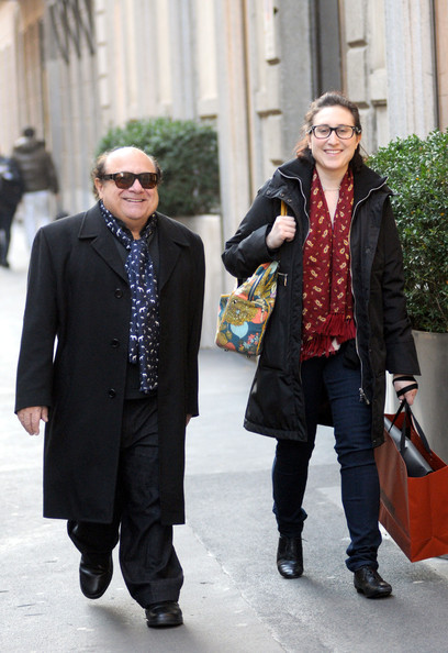 Photo of Danny DeVito & his  Daughter  Grace Fan DeVito