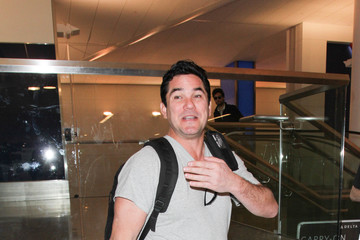 Dean Cain Dean Cain Enters LAX