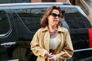 Debi Mazar Out in NYC