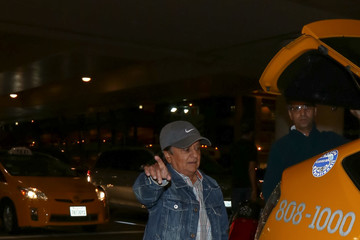 Deep Roy Deep Roy Arriving at LAX Airport