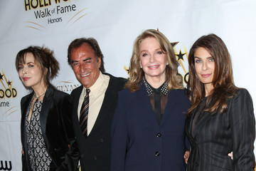 Deidre Hall Kristian Alfonso Celebrities Attends the Hollywood Walk of Fame Honors at Taglyan Complex