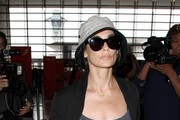 Demi Moore Arrives at LAX