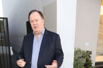 Dennis Haskins Dennis Haskins Outside Craig's Restaurant In West Hollywood