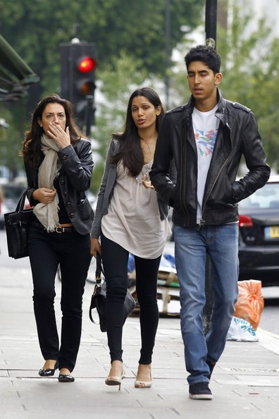 Freida Pinto in Dev Patel and Freida Pinto Together - Zimbio