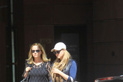 Devon Aoki Goes Shopping With A Friend In Beverly Hills