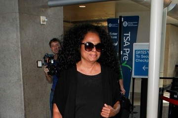 Diana Ross Diana Ross Arrives at LAX