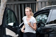 Diane Kruger Goes to the Office
