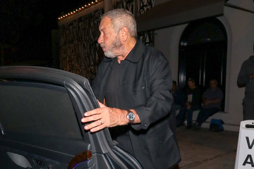 Dick Wolf Dick Wolf Outside Craig's Restaurant In West Hollywood