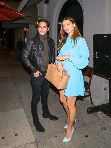 Angela Sarafyan Is Seen At Craig's Restaurant In West Hollywood