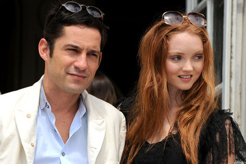 Enrique Murciano Dior Fashion Show in Paris