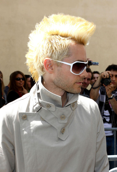 Jared Leto Spiked Hair