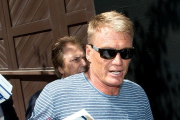 Dolph Lundgren Dolph Lundgen Arrives at Comic-Con