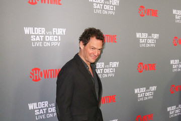 Dominic West Tyson Fury At 'Fury vs. Wilder' Fight At The Staples Center