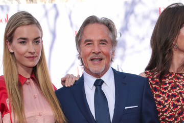 Don Johnson Katie Aselton Attends Paramount Pictures' Premiere Of 'Book Club'